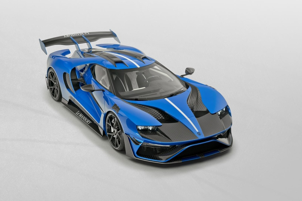 xe do,  ford,  mansory,  ford gt,  ford gt mansory anh 1