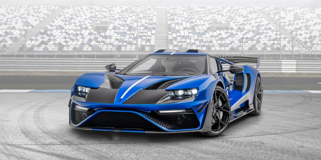 xe do,  ford,  mansory,  ford gt,  ford gt mansory anh 2