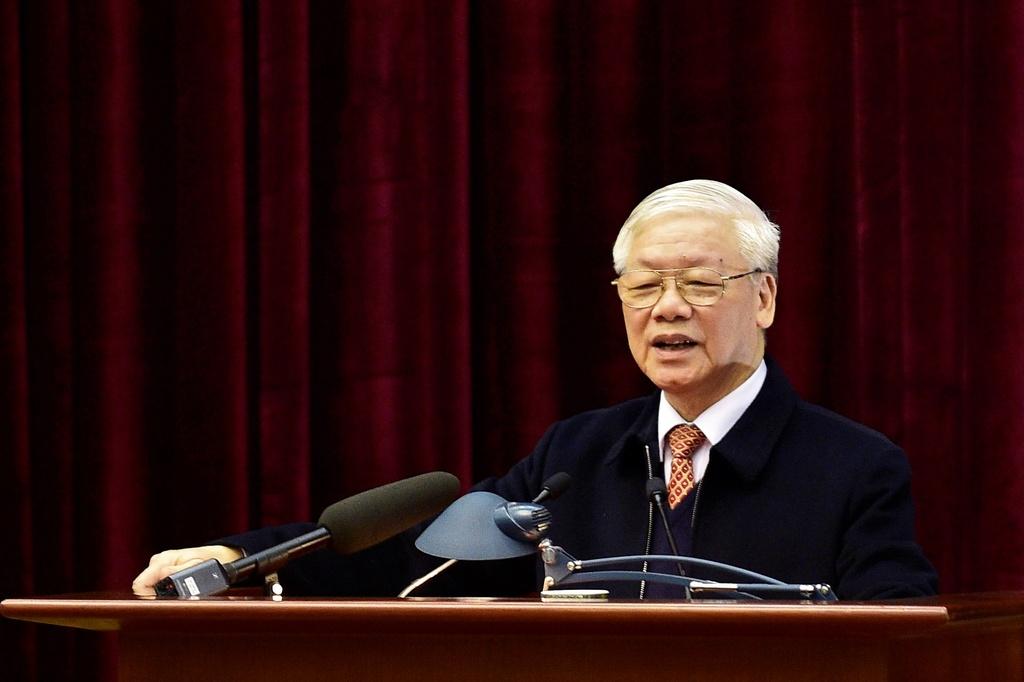 Bo Chinh tri gap mat nguyen lanh dao cap cao cua Dang va Nha nuoc hinh anh 1 BAC7295.jpg