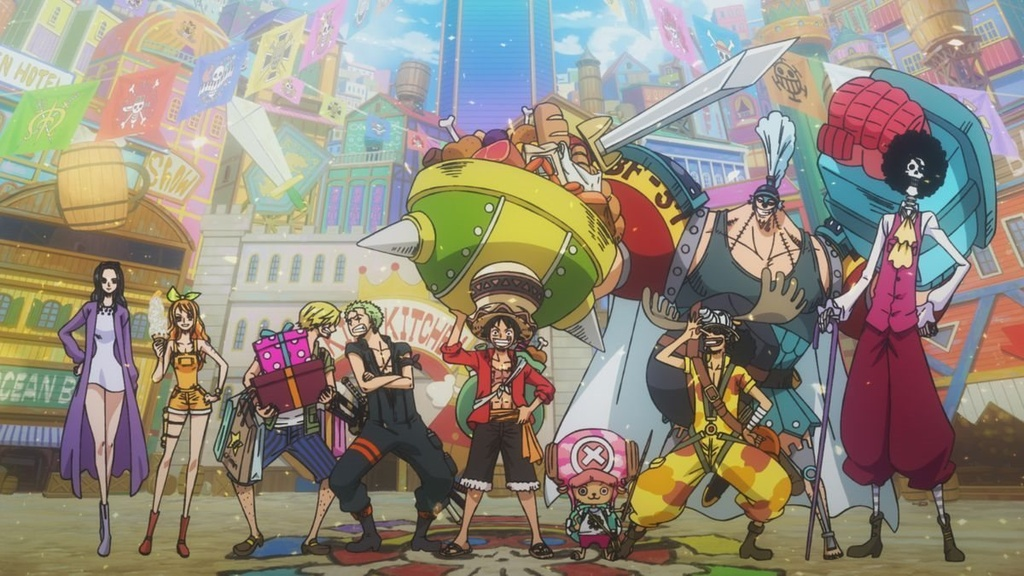 'One Piece: Le hoi hai tac' - tran hai chien hoanh trang danh cho fan hinh anh 1 onepiecestampede_still030.0.jpg