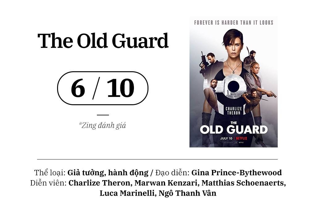 review phim Old Guard anh 1
