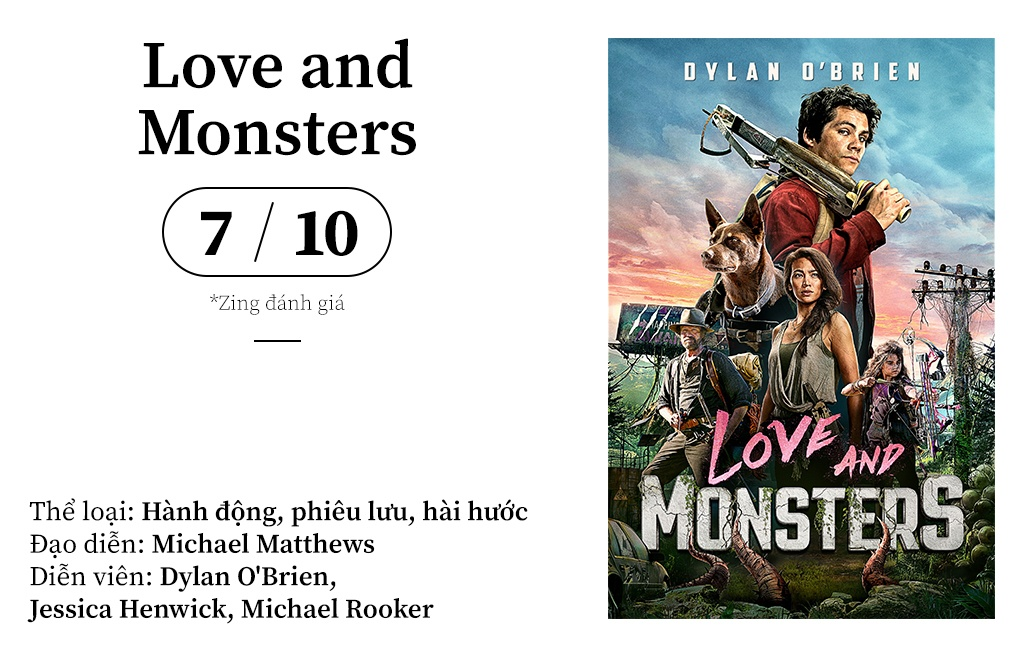 review phim Love and Monsters anh 1