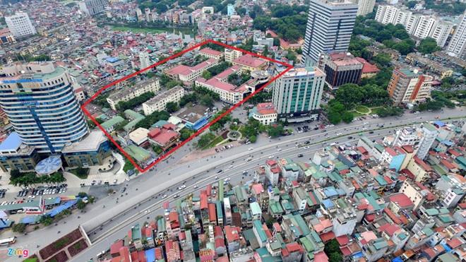 Bau Thuy muon xay du an 615 trieu USD tren khu dat khach san Kim Lien hinh anh 1 kimlien1.jpg
