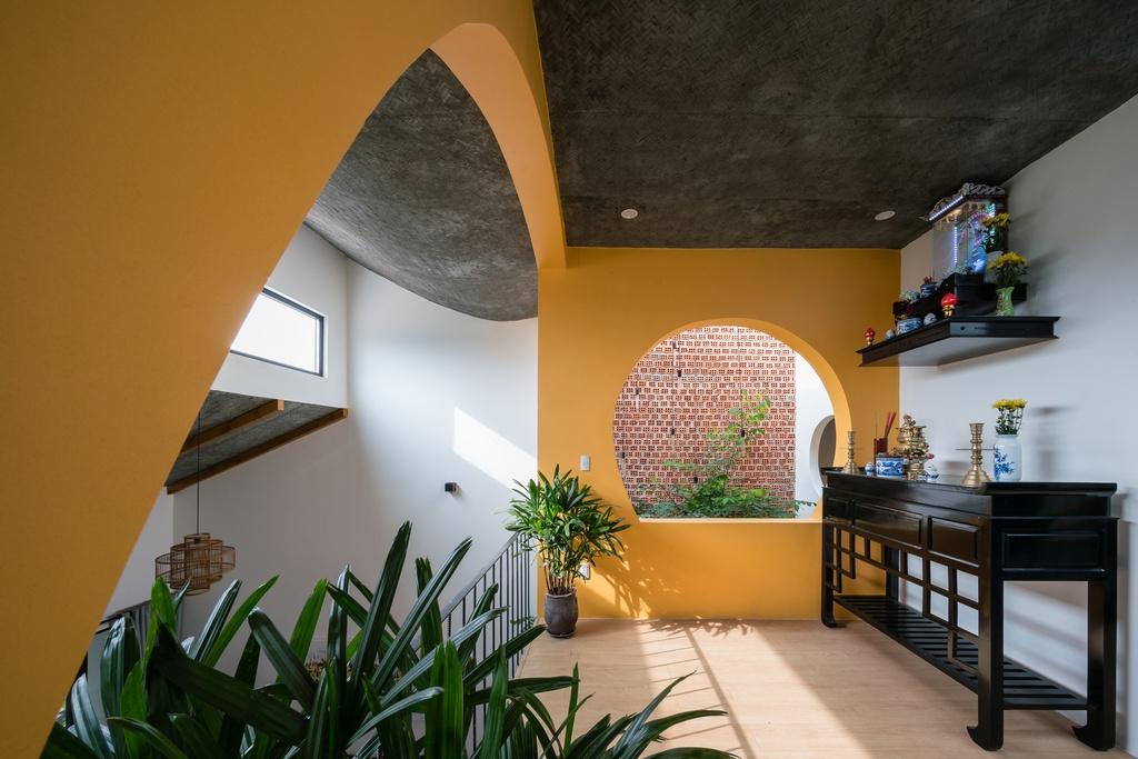 Ngoi nha mang thiet ke nhu mot Hoi An thu nho hinh anh 14 14.jpg  Ngôi nhà mang thiết kế như một Hội An thu nhỏ 14