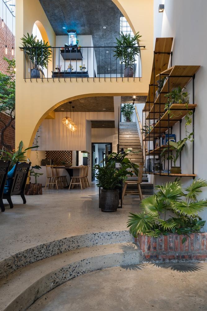 Ngoi nha mang thiet ke nhu mot Hoi An thu nho hinh anh 3 3.jpg  Ngôi nhà mang thiết kế như một Hội An thu nhỏ 3