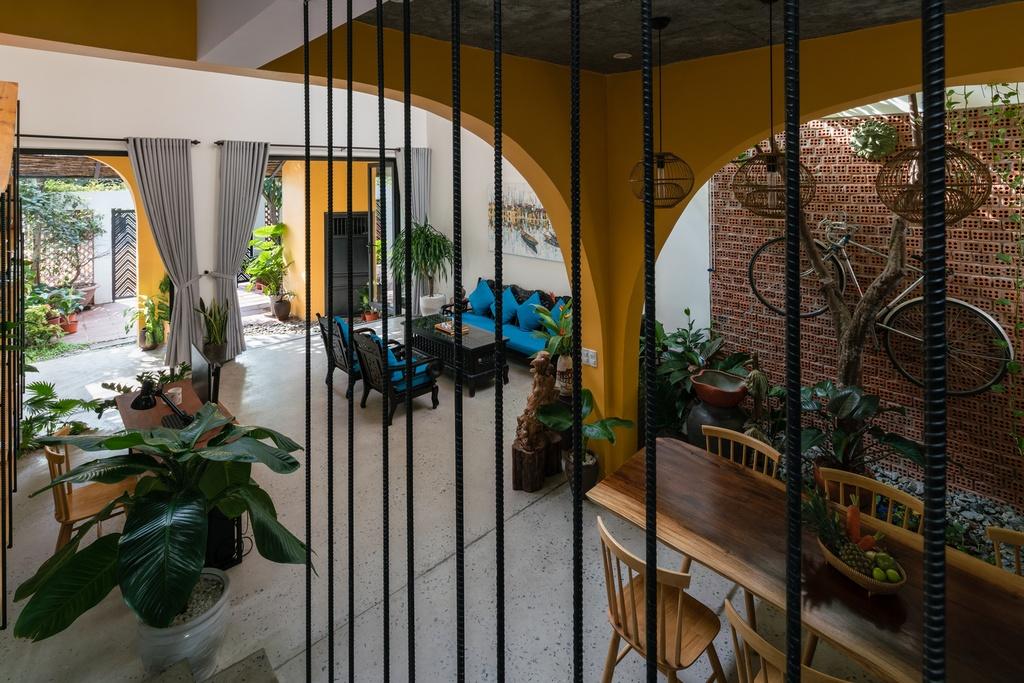 Ngoi nha mang thiet ke nhu mot Hoi An thu nho hinh anh 5 5.jpg  Ngôi nhà mang thiết kế như một Hội An thu nhỏ 5