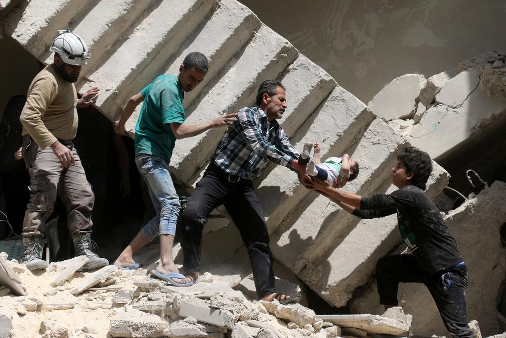 5 nam noi chien Syria: Tan khoc va dai dang hinh anh 1