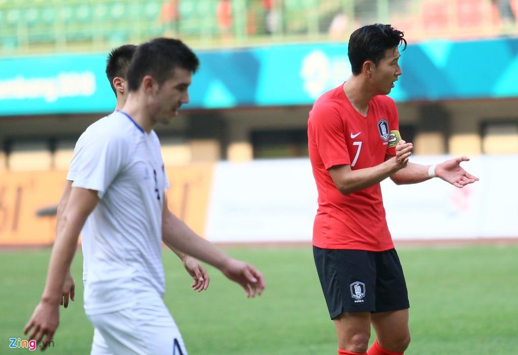 Son Heung-min phan ung voi tinh than thi dau cua Olympic Han Quoc hinh anh 4