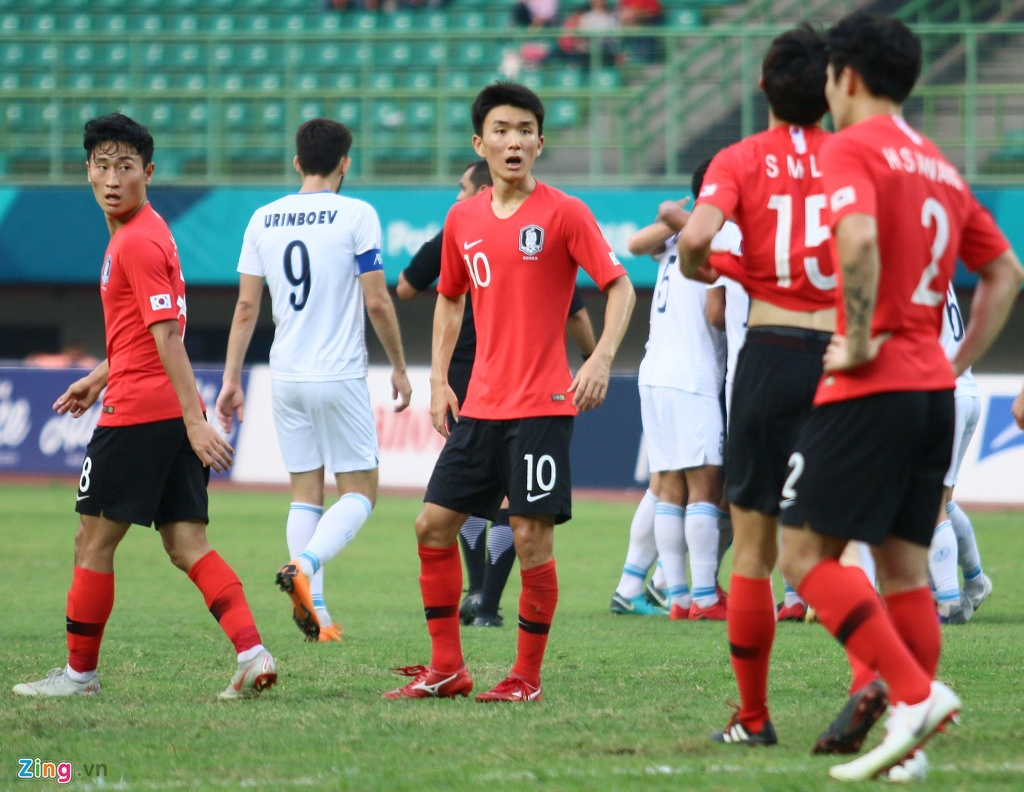 Son Heung-min phan ung voi tinh than thi dau cua Olympic Han Quoc hinh anh 9