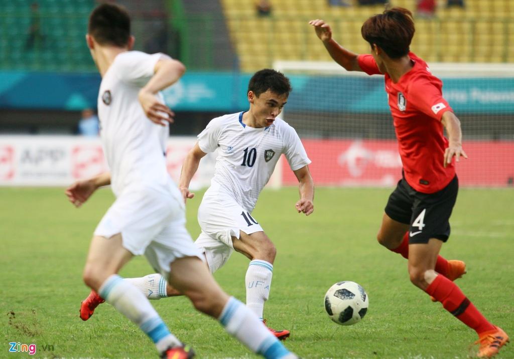 Son Heung-min phan ung voi tinh than thi dau cua Olympic Han Quoc hinh anh 3
