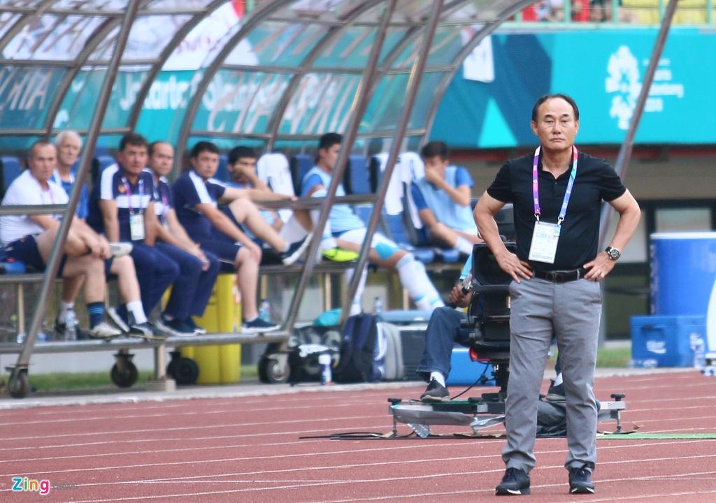 Son Heung-min phan ung voi tinh than thi dau cua Olympic Han Quoc hinh anh 12