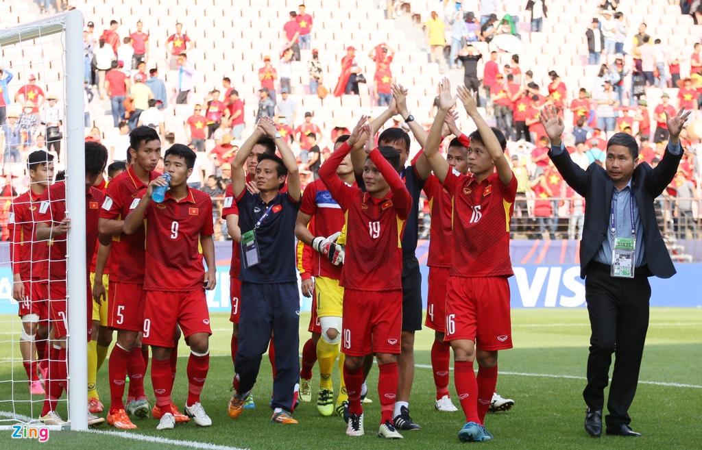 U19 Viet Nam,  U20 Viet Nam,  Hoang Anh Tuan,  U20 World Cup,  AFC,  Bui Tien Dung,  Quang Hai,  Duc Chinh anh 3