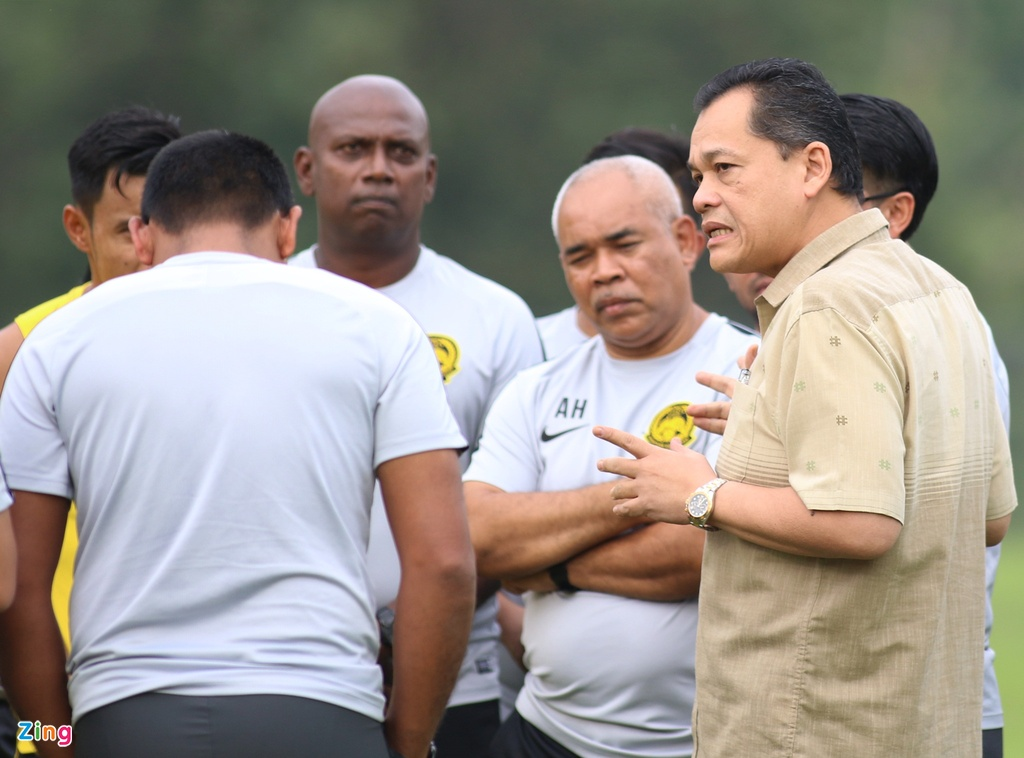 Malaysia doi san tap xa thanh pho sau khi Viet Nam den Kuala Lumpur hinh anh 4