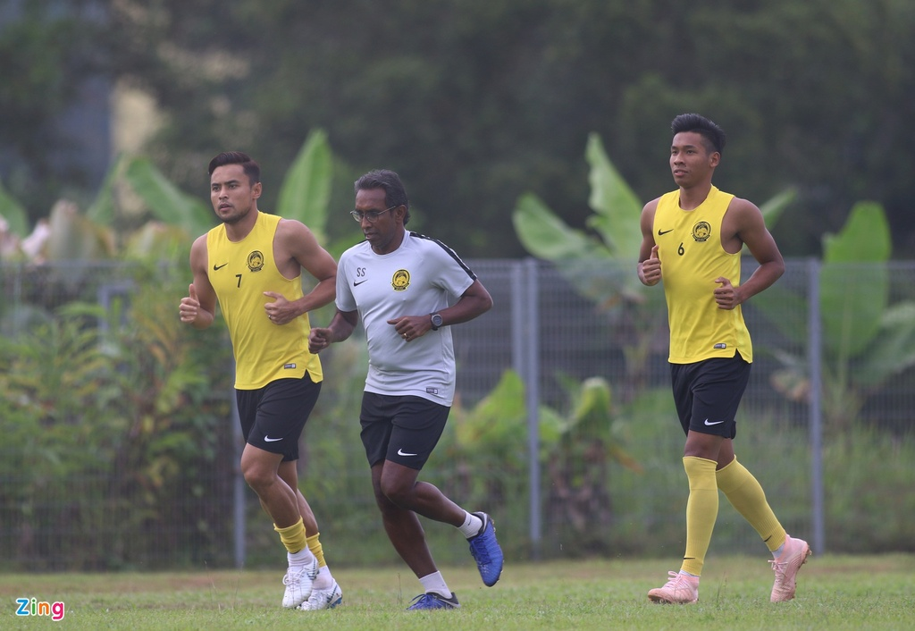 Malaysia doi san tap xa thanh pho sau khi Viet Nam den Kuala Lumpur hinh anh 11