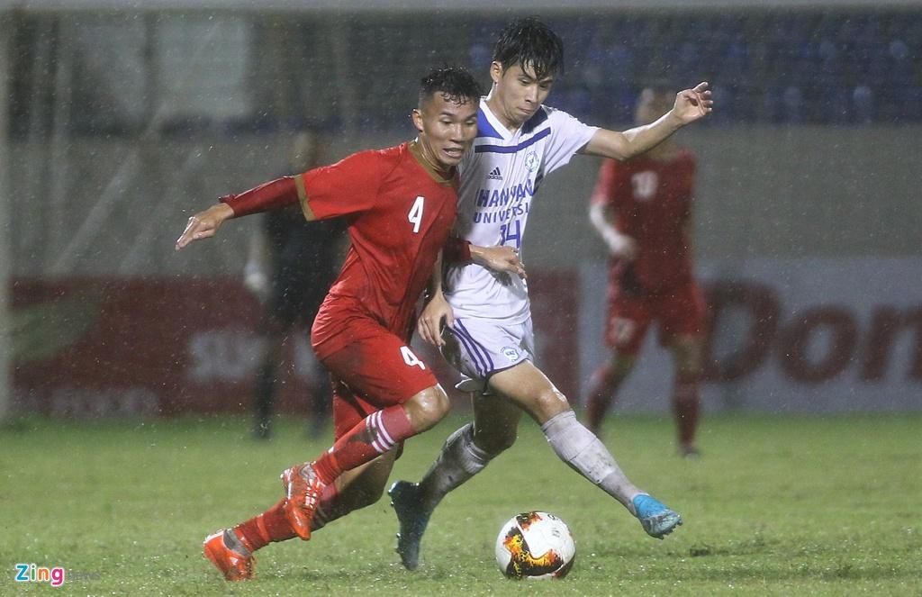 U21 Viet Nam thang dam Dai hoc Hanyang trong mua lon hinh anh 7