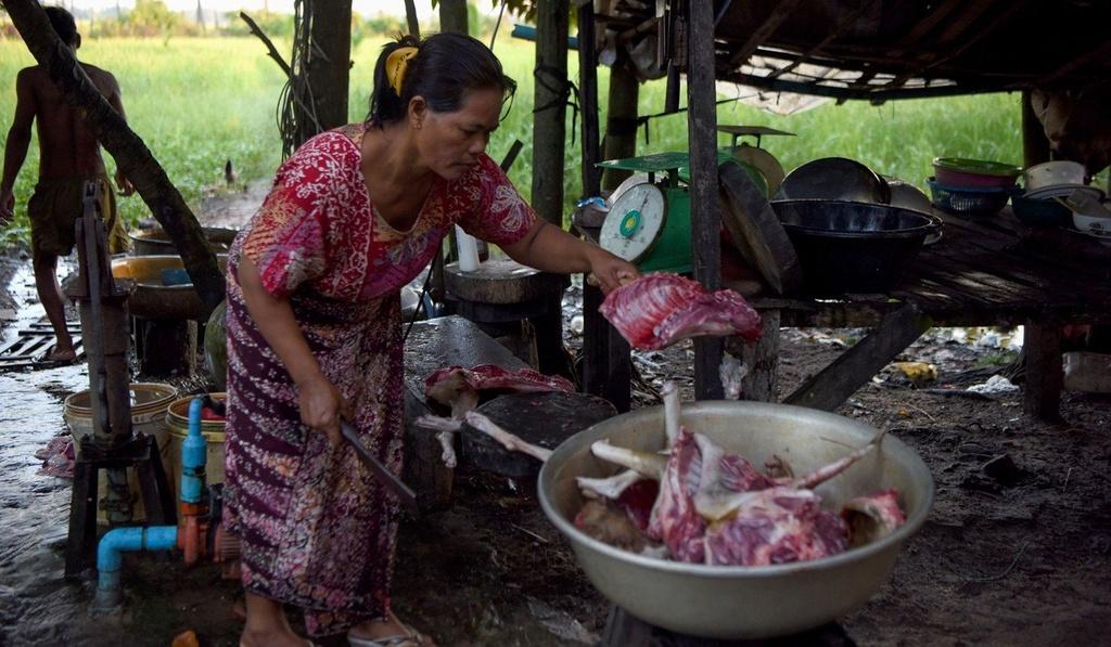 Nganh cong nghiep thit cho o Campuchia anh 2
