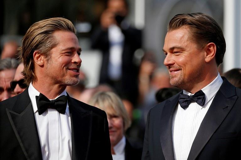 Brad Pitt Leonardo DiCaprio anh 7