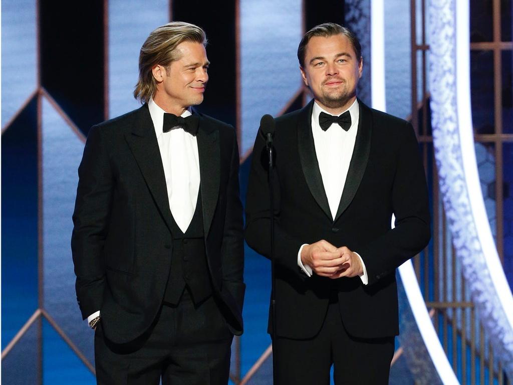 Brad Pitt Leonardo DiCaprio anh 14