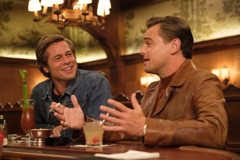 Brad Pitt Leonardo DiCaprio anh 12
