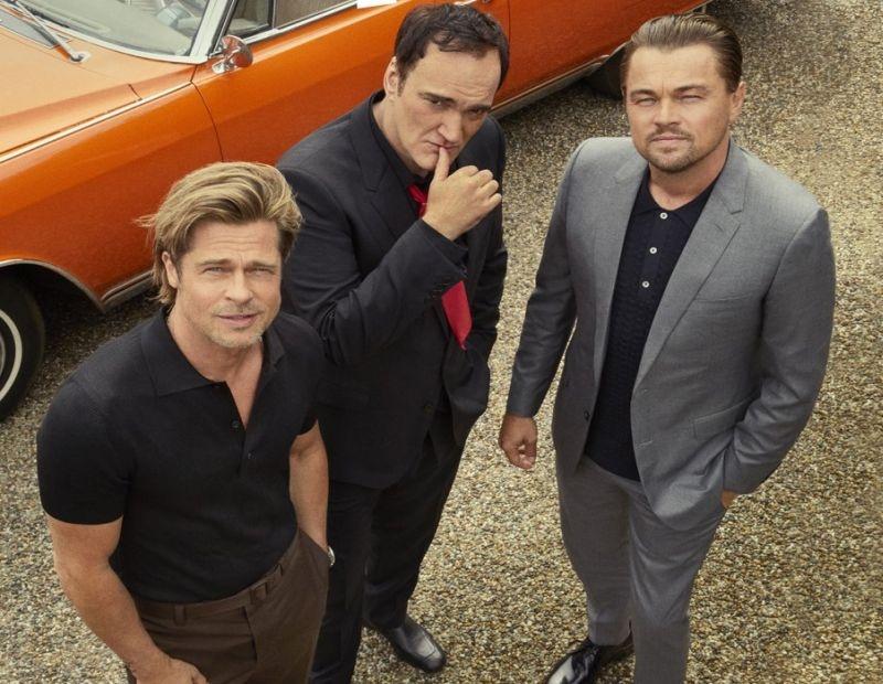 Brad Pitt Leonardo DiCaprio anh 1