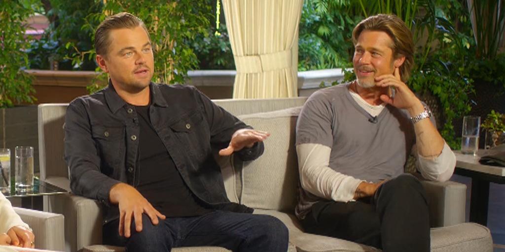 Brad Pitt Leonardo DiCaprio anh 11