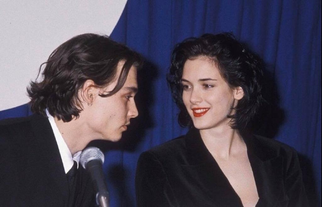 Johnny Depp Winona Ryder anh 1