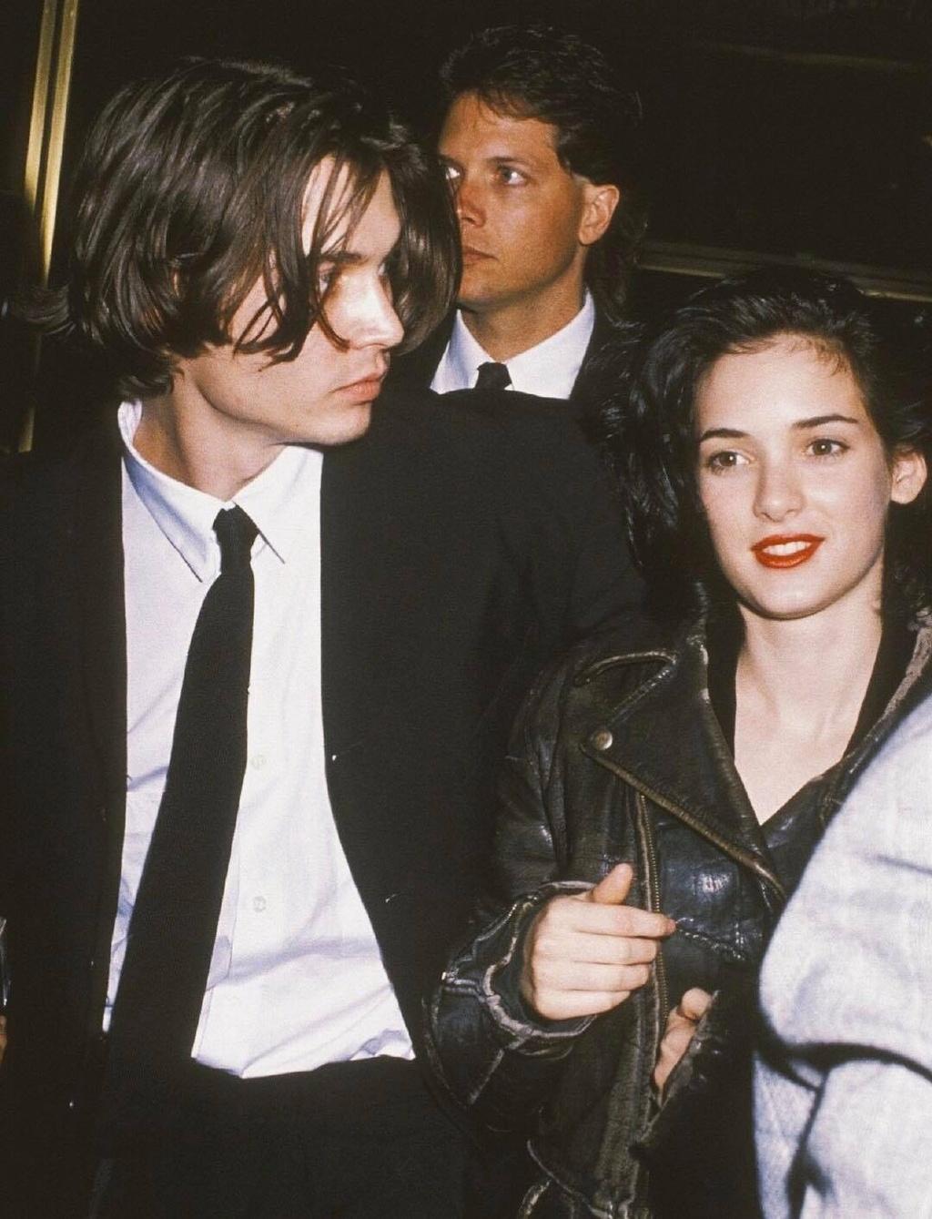 Johnny Depp Winona Ryder anh 5