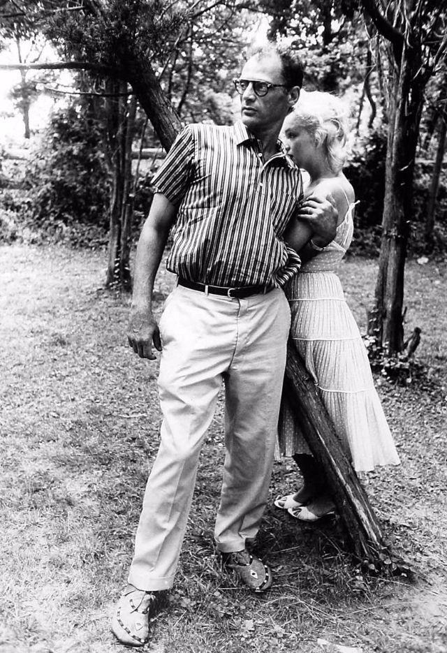 Marilyn Monroe va chong anh 10