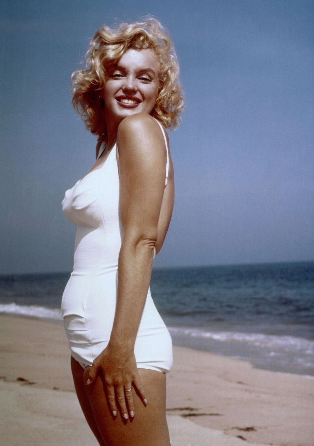 Marilyn Monroe va chong anh 14