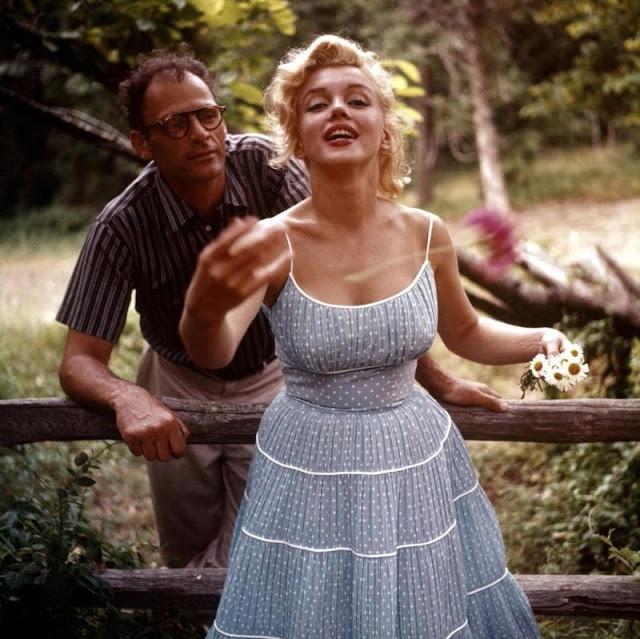 Marilyn Monroe va chong anh 9