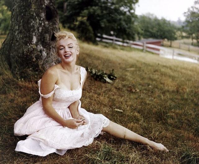 Marilyn Monroe va chong anh 12
