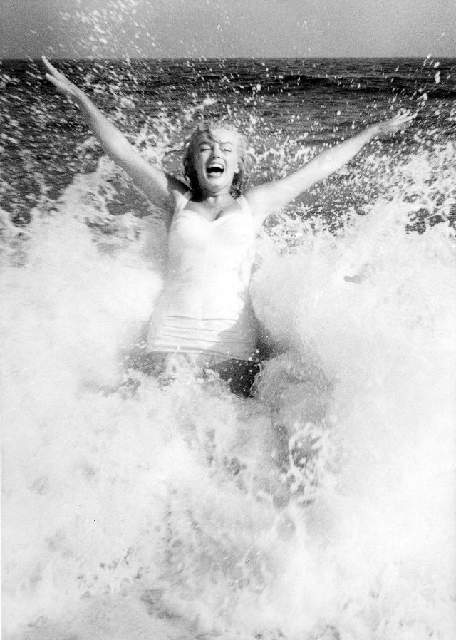 Marilyn Monroe va chong anh 3