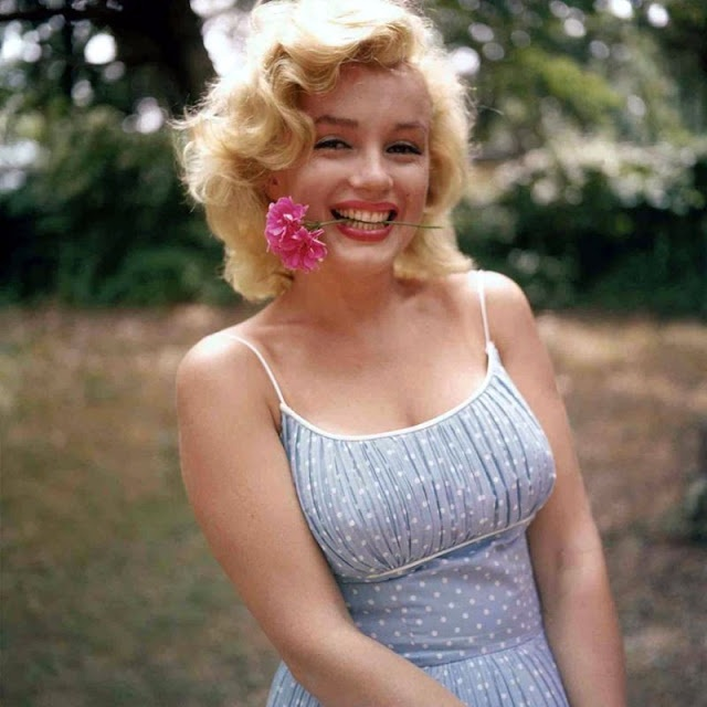 Marilyn Monroe va chong anh 13