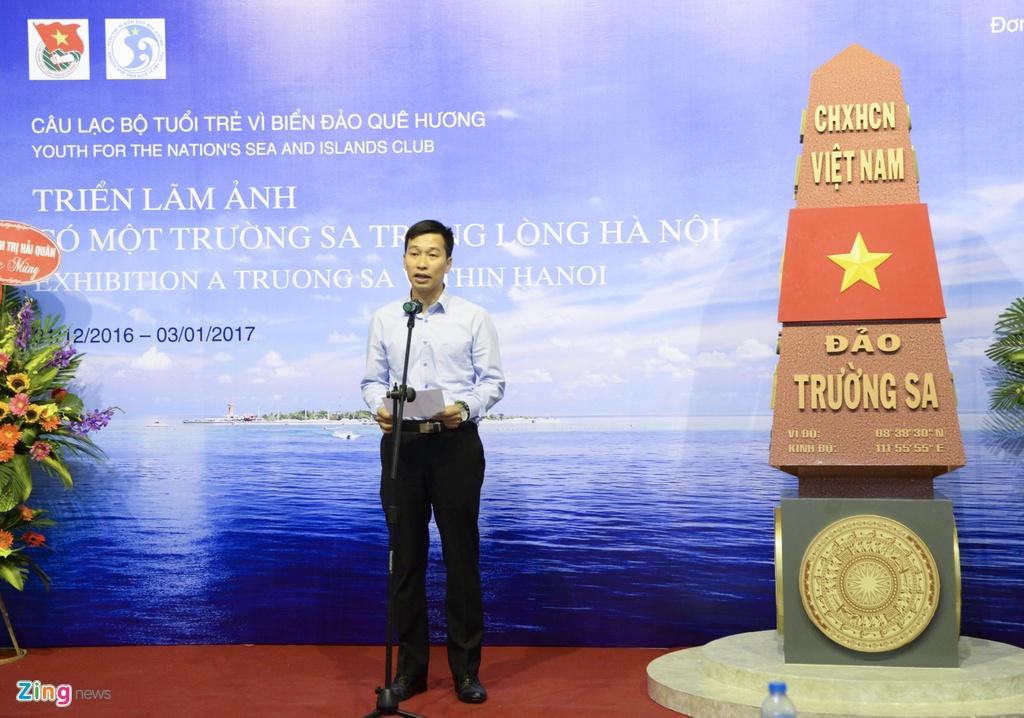 Hinh anh Truong Sa trong long Ha Noi hinh anh 2