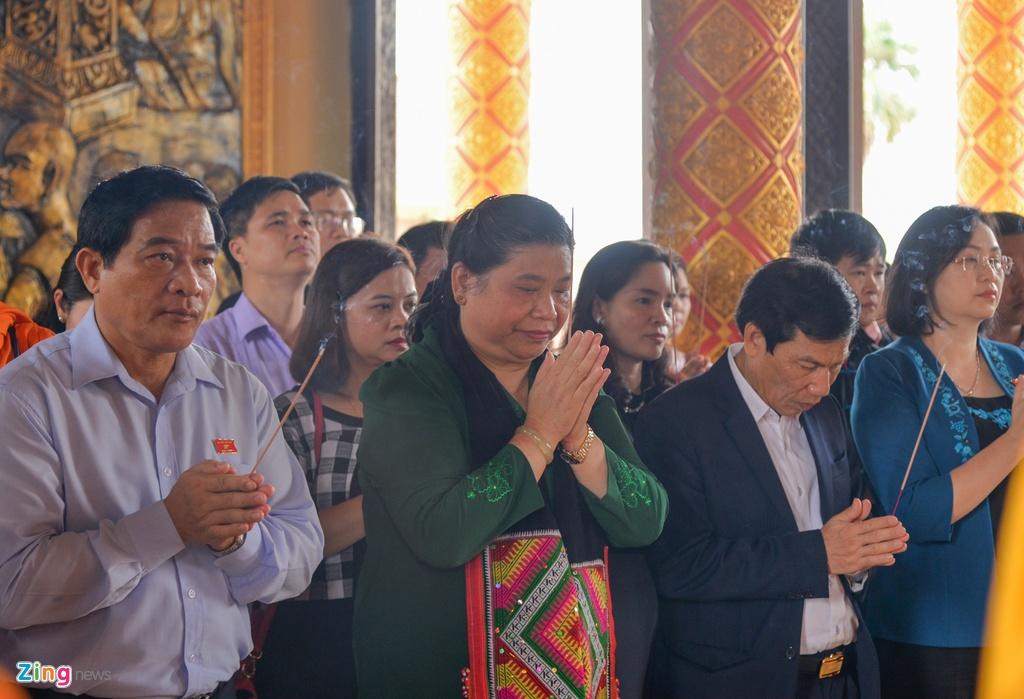 Pho chu tich Quoc hoi tham Lang van hoa cac dan toc Viet Nam hinh anh 8