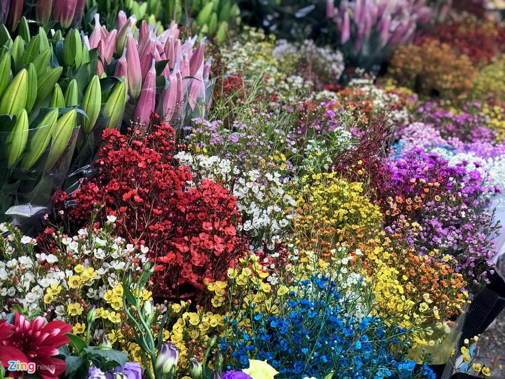Hoa tuoi Viet Nam canh tranh hoa Trung Quoc anh 2
