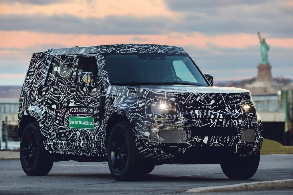 Land Rover Defender 2020 co ban danh rieng cho Trung Quoc anh 4