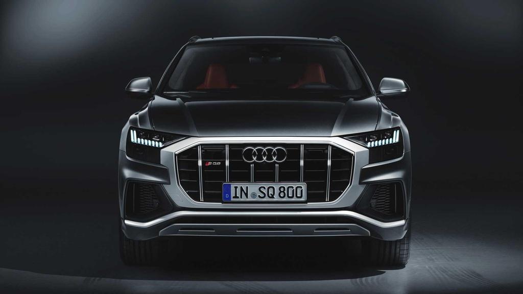 SUV hang sang Audi SQ8 lo dien, gia cao ngat nguong hinh anh 6