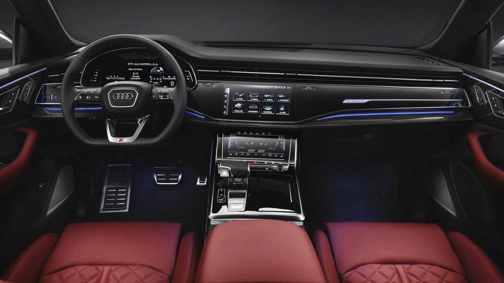 SUV hang sang Audi SQ8 lo dien, gia cao ngat nguong hinh anh 8