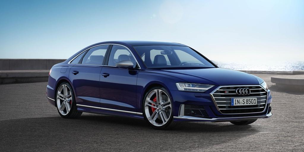 'Sieu sedan' Audi S8 2020 lo dien, khoi diem tu 100.000 USD hinh anh 1