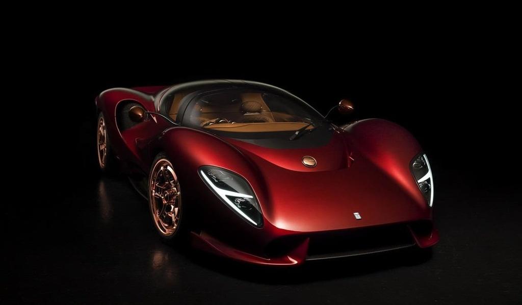 Vua lo dien, sieu xe De Tomaso bi to sao chep thiet ke cua Ferrari hinh anh 1