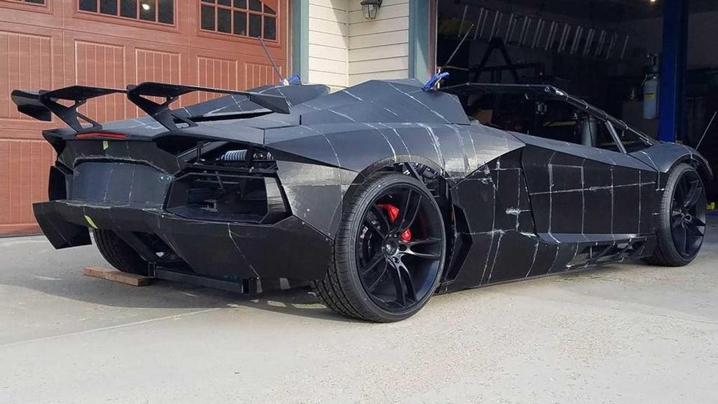 Tu san xuat sieu xe Lamborghini Aventador bang may in 3D hinh anh 4