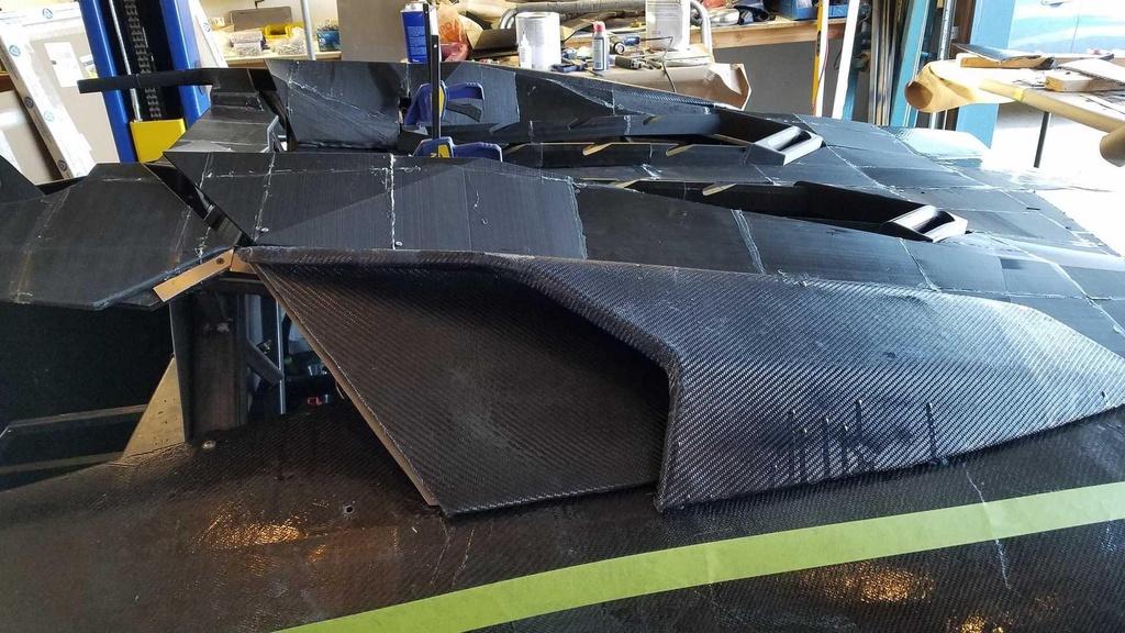 Tu san xuat sieu xe Lamborghini Aventador bang may in 3D hinh anh 6