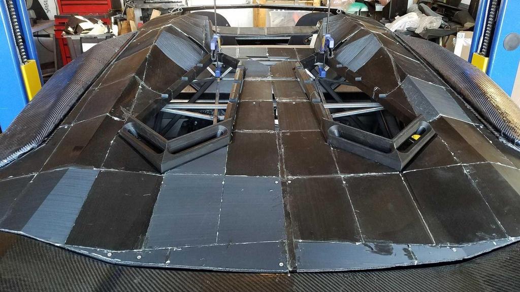 Tu san xuat sieu xe Lamborghini Aventador bang may in 3D hinh anh 7