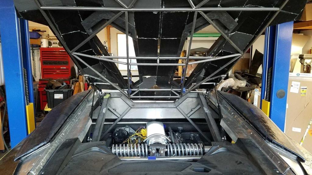 Tu san xuat sieu xe Lamborghini Aventador bang may in 3D hinh anh 8