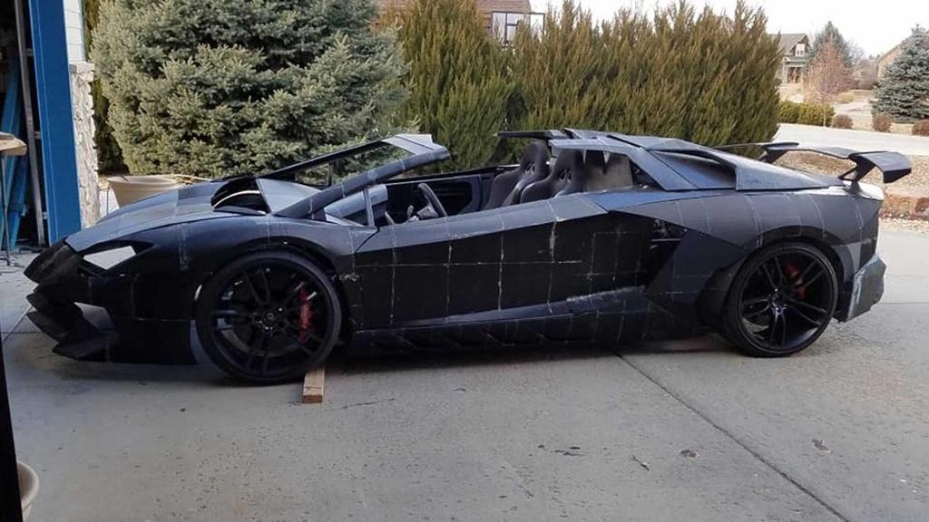 Tu san xuat sieu xe Lamborghini Aventador bang may in 3D hinh anh 1