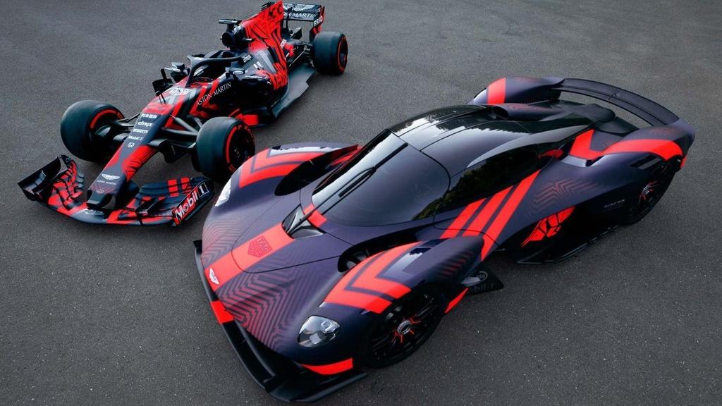 sieu xe Aston Martin Valkyrie lan dau chay thu anh 3
