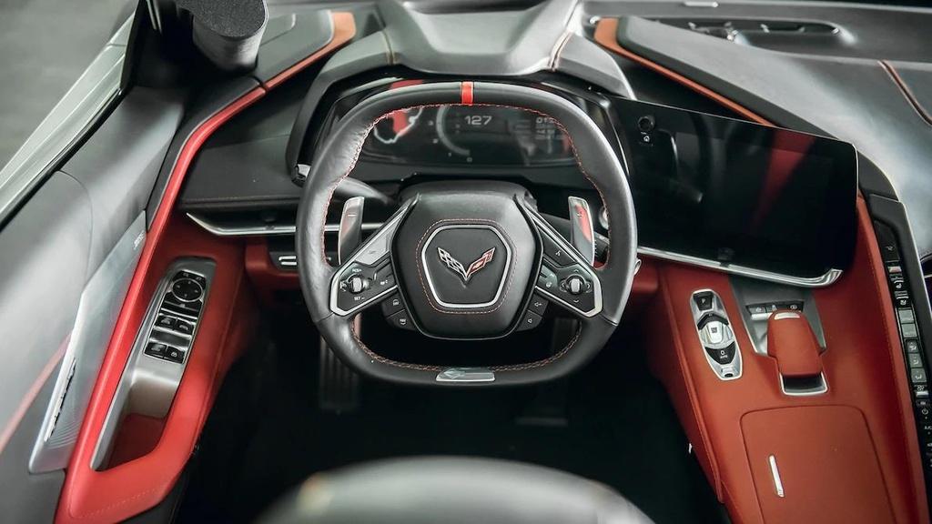 danh gia noi that sieu xe Chevrolet Corvette C8 2020 anh 14