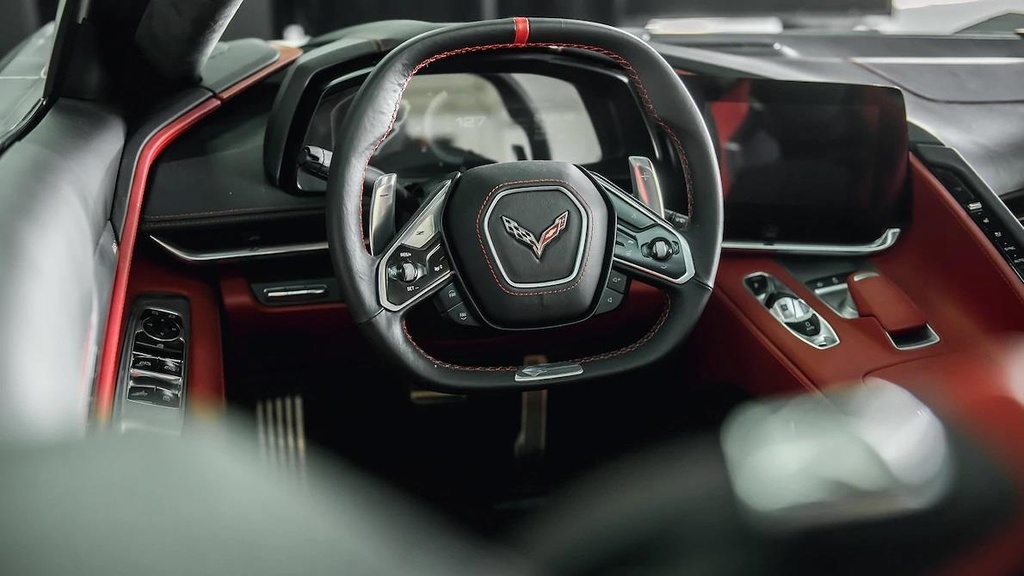 danh gia noi that sieu xe Chevrolet Corvette C8 2020 anh 5