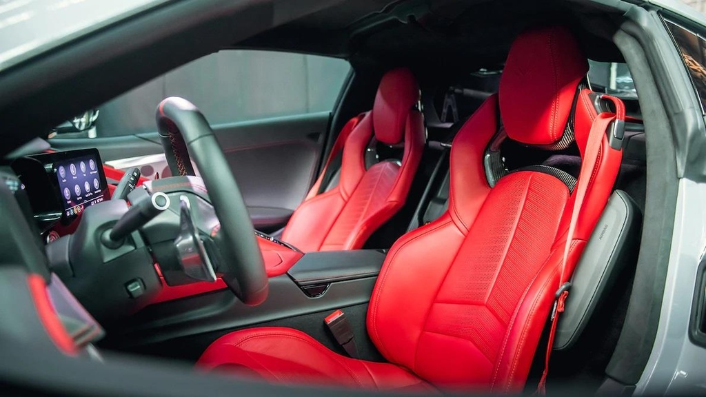 danh gia noi that sieu xe Chevrolet Corvette C8 2020 anh 7